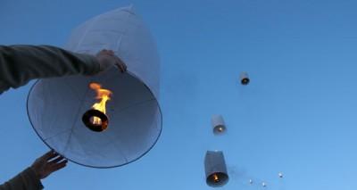 Lanterne volante fabriquer