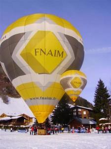 montgolfiere radiocommandee