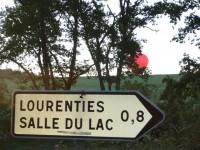 Lac du Gabas : Site d'envol des montgolfières