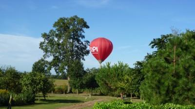 Sud Ouest Montgolfière dans les jardins du Tarn et Garonne