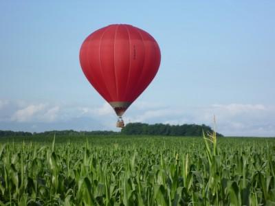 Vol en montgolfière au dessus du Pays Basque