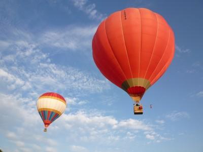 Vol à deux montgolfières pour 8 passagers